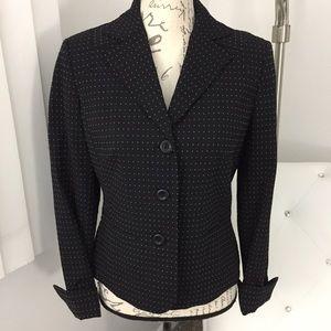 NEW Ann Taylor Loft Black/White Business Blazer